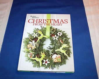 Better Homes and Gardens Christmas From the Heart Vol 22 Hardcover Book Cookbook Sewing Craft Crafts Recipes Decorating Patterns Soap Making