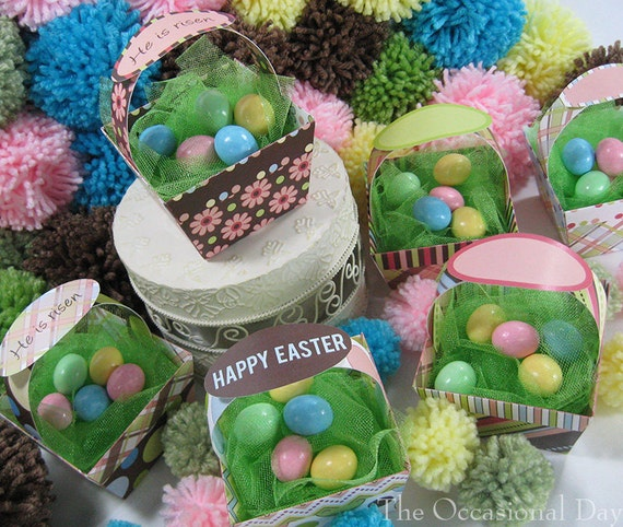 PRINTABLE Easter - Baskets - He Is Risen