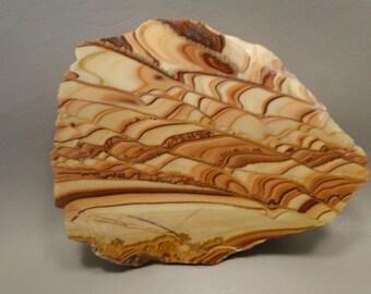 Wave Dolomite Polished Stone Slab Collector Semi Precious Gemstone #e2
