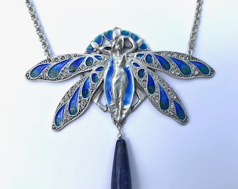 Dragonfly Lady Necklace