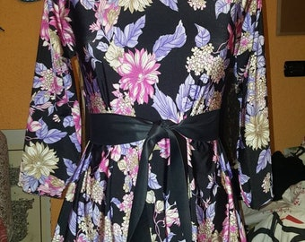 Kimono blouse in viscose in all sizes and fantasies