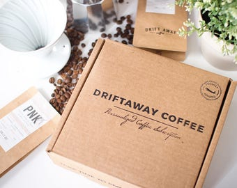 4 Pounds of Coffee, Coffee gift, Coffee Lovers Gift, Coffee Gift Set, Fresh, Single Origin Coffee, Sustainably Sourced