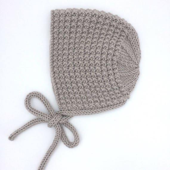 Inga Bonnet in Pebble  - Made to Order