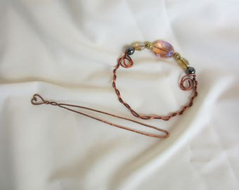 Scarf Ring, Scarf Pin, Shawl Pin, Sweater Pin
