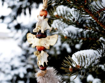 Tribal Vertebrae Ornament