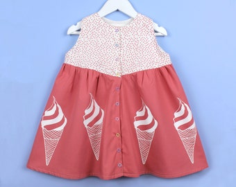 Girls Ice Cream Dress