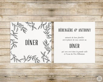 Bud - lunch/Brunch - wedding invitation wedding Invitation collection