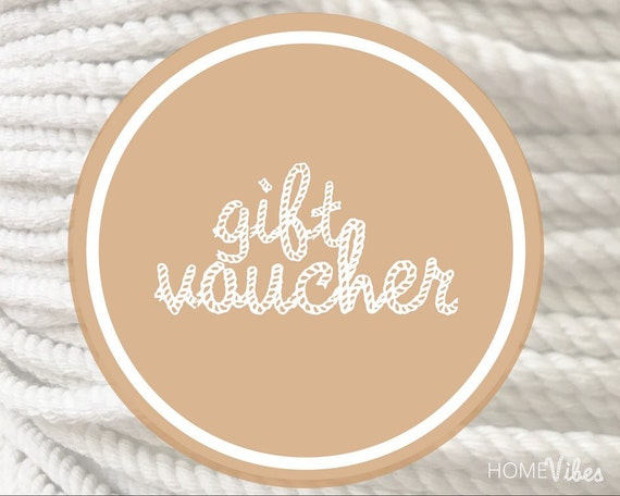 Gift Voucher || Choose your Value || Gift for Her || Mothers Day