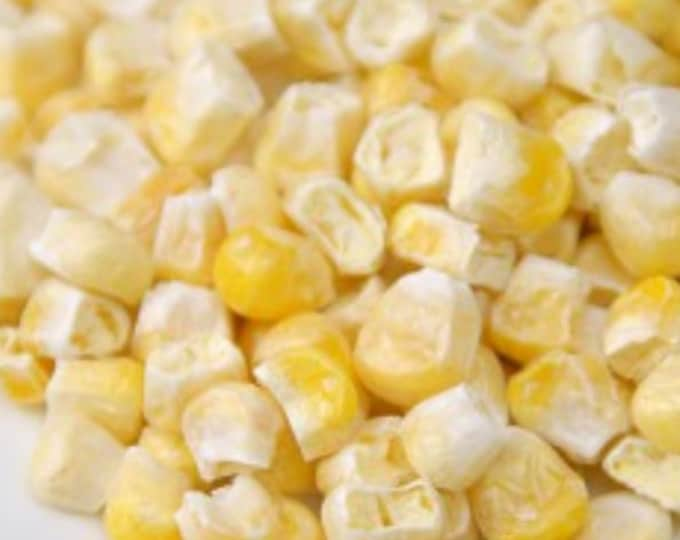6-8 oz Organic freeze dried sweet corn no additives or preservatives