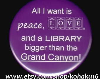 Peaceful Awesome Library Button