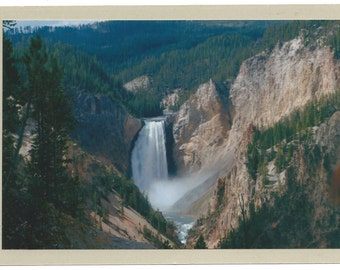 Blank Photo Greeting Card - Grand Canyon of the Yellowstone