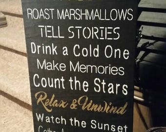 Firepit rules