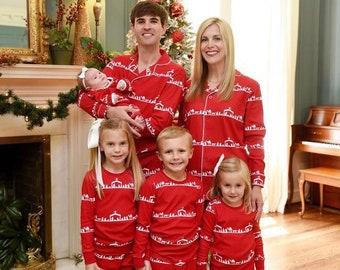 Christmas Pajamas, Nativity Pajamas, Nativity, Christmas PJs, Matching PJs, Family PJs, Pajamas, Christmas Gown, Sibling