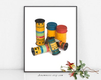 OLD FILM - digital download - printable vintage photography image by Anamnesis for prints or transfer to totes, shirts, cards, pillows etc.