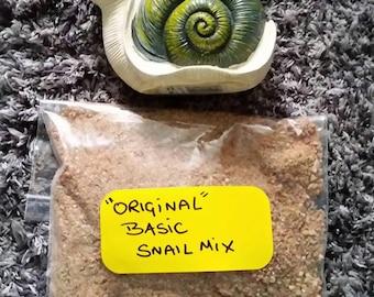 100g of  Basic Snail Feed Mix