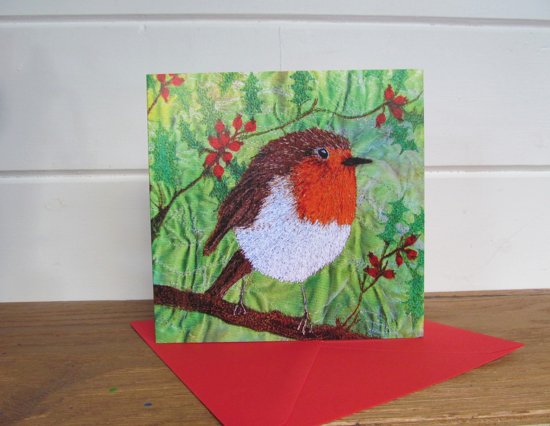 3 Robin Cards Blank Card Greetings Card Christmas Card