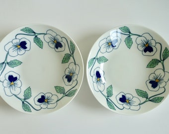 Set of 2! Rörstrand <Sylvia> Marianne Westman beautiful deep soup plate.