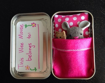 Wee Mouse in a Tin House