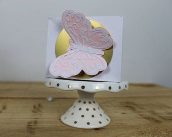 Butterfly Rectangle Box - 12