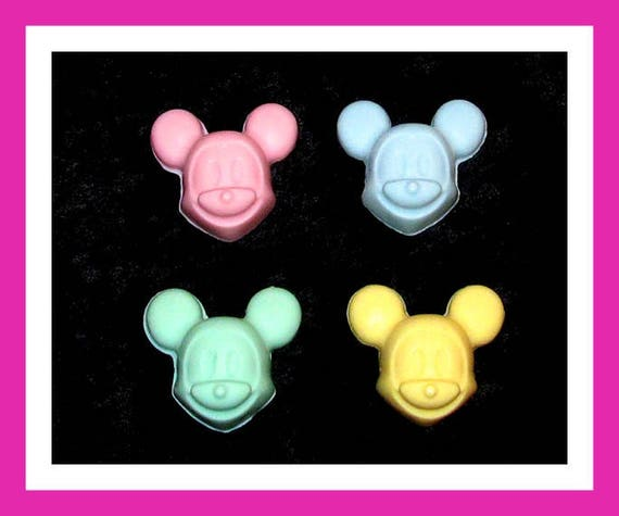 24 Mouse Soap Favors,Baby Shower Favors,Birthday Party Favors,Personalized Button Pin,Girl Birthday Favors,Boy Birthday Favors,Kid Soap