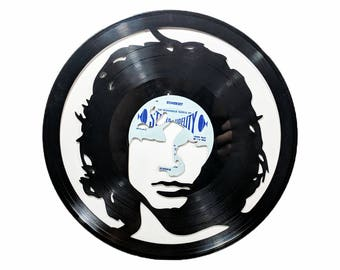 Jim Morrison The Doors Vinyl Record Art