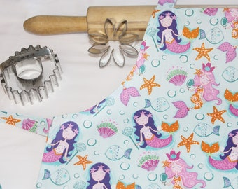 Mermaids Child Apron