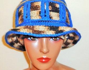 On Pins and Needles, Crochet Brim Cap