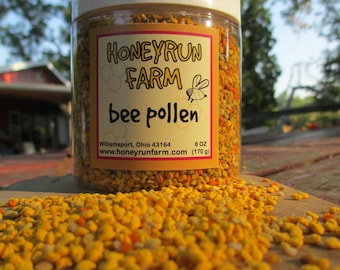 Bee Pollen - Raw, 6 oz. jar