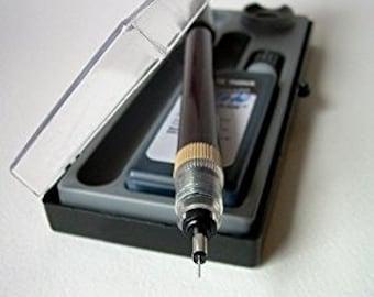 Ensemble de Koh-I-Noor Rapidosketch technique stylo, plume 62D 0,25 mm, en acier inoxydable; Dessin technique, Illustration technique