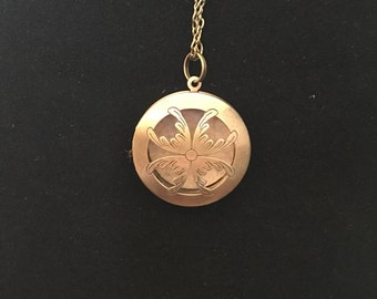 Perfume Diffuser Bronze Necklace