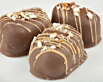 Chubby Hubby Peanut Butter & Pretzel Truffles  (10 - 12 pieces)