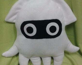 Super Mario Blooper (squid) plushie/cushion