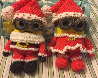 Mr and Mrs Minion Claus