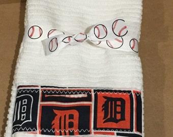 Detriot Tigers Hand Towels