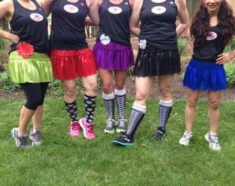 Sparkle Running Skirts
