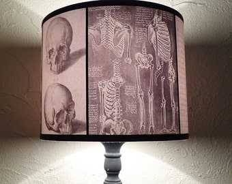 Bear lamp shade lampshade woods shadows lighting nursery anatomy lamp shade lampshade requiescat in pace lighting halloween decor skulls dark aloadofball Images