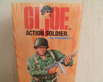 G I Joe Action Soldier by  Hasbro New in Box     1995  World War II Commemorative Figure