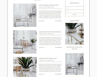 Karistinos - Responsive Wordpress Theme - Genesis Child Theme - Wordpress Blog Theme - Photography Theme – Instant Digital Download