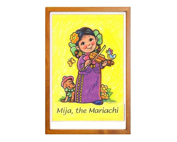 Mija The Mariachi Wall Art Poster Print