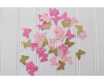 Butterfly Confetti, Butterfly Birthday Party, Butterfly 1st Birthday, 100 Pieces