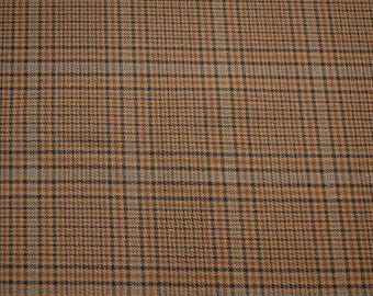 REMNANT Plaid Fabric 55 inches x 5 yards