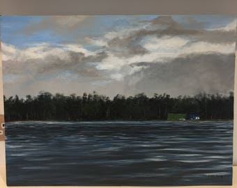 Daneshill lake