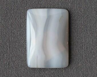 White Agate Stone Cabochon