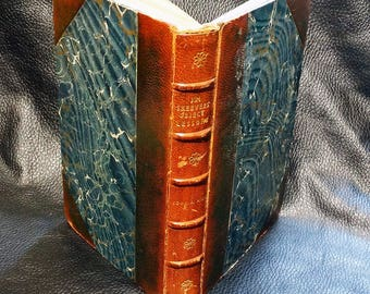 Rare Railroad Book,Jim Skeever's Object Lessons on Railroading for Railroaders, Leather Bound