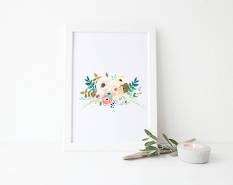 "8"" x 10"" Watercolor Art Print 