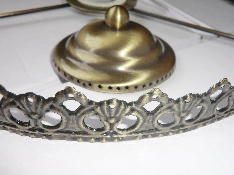 Basket chandelier metal frame skeleton make your own chandelier 2788 arubaitofo Choice Image