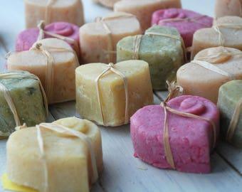 Organic Soap Hearts