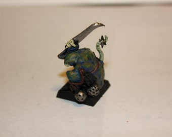 Custom sculpted and painted animal miniature, from reference.
