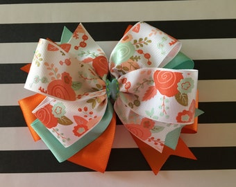 Triple Layer Large Hair Bow
