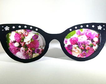 Black Picture Frame - Sunglasses Picture Frame - Picture Frame for Kids
